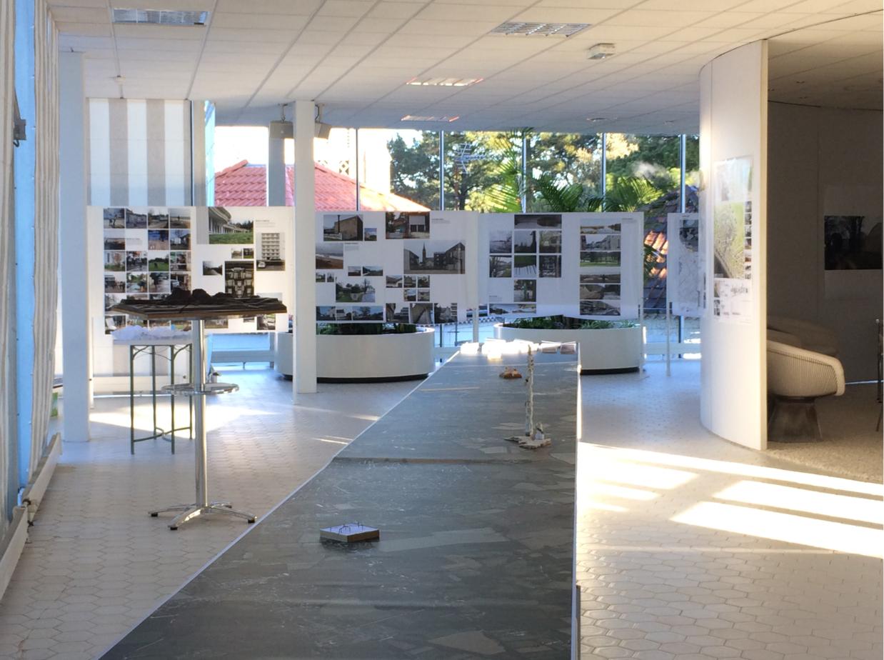Les utopiades, une exposition tenue en 2017 à la Baule dans le cadre d'un partenariat entre l'Agence d'Urbanisme de Saint-Nazaire et l'ENSA Nantes