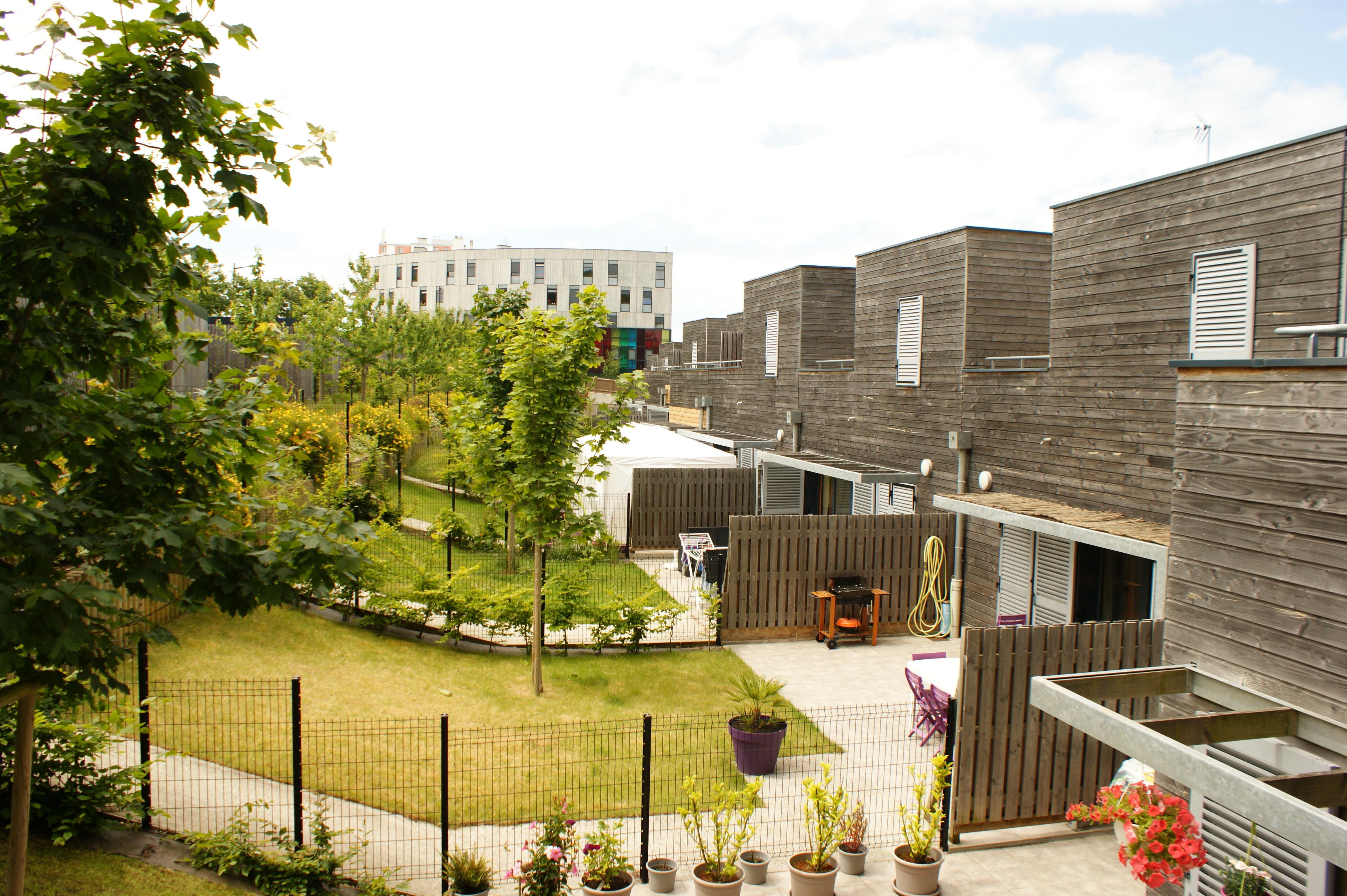 14 maisons passives réalisées au Havre par l'Atelier Philippe Madec